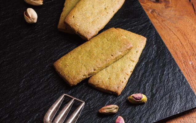 新商品ピスタチオクッキーの写真