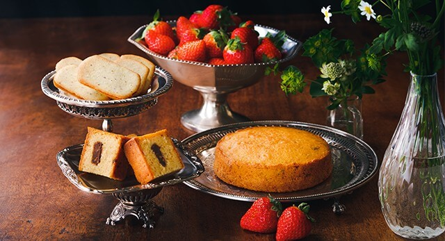 期間限定商品お菓子、ケーキの写真