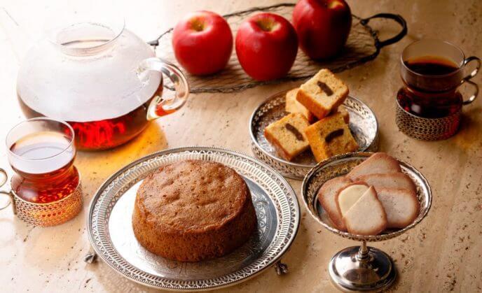 冬季限定商品お菓子、ケーキの写真